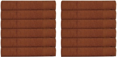 RR Textile House Brown Set of 12 Napkins