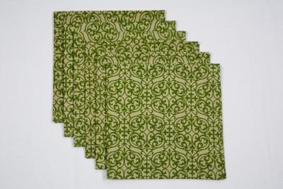 Ocean Collection Green Set of 6 Napkins