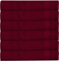 RR Textile House Maroon Set of 6 Napkins