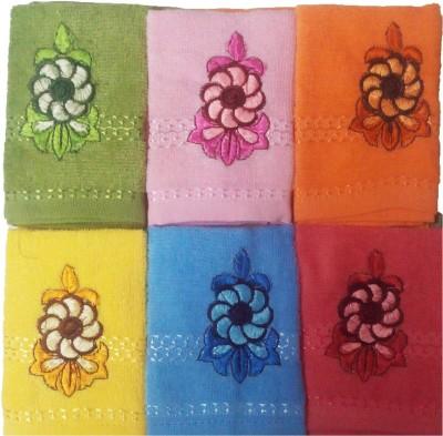 Mikado Multicolor Set of 6 Napkins