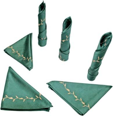 Sriam Green Set of 6 Napkins