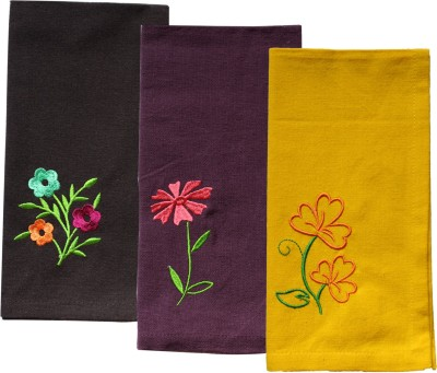 Ever Green Multicolor Set of 3 Napkins