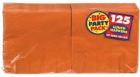 Amscan Orange Set of 125 Napkins