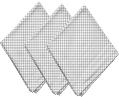 Airwill Grey Set of 3 Napkins