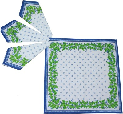 Morning Blossom Multicolor Set of 4 Napkins