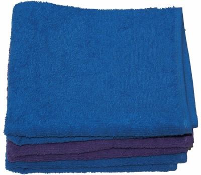 Kaashi Purple, Blue Set of 3 Napkins