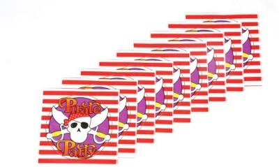 Funcart Red Set of 9 Napkins