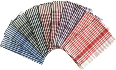 Lushomes Multicolor Set of 10 Napkins