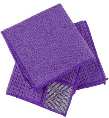 Rivoli Purple Set of 3 Napkins