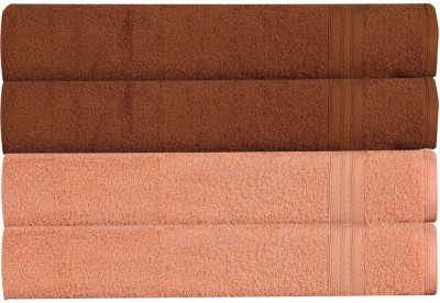 RR Textile House Brown, Beige Set of 4 Napkins