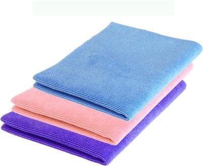 Rivoli Blue, Pink, Purple Set of 3 Napkins