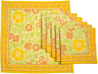 Ocean Collection Multicolor Set of 6 Napkins