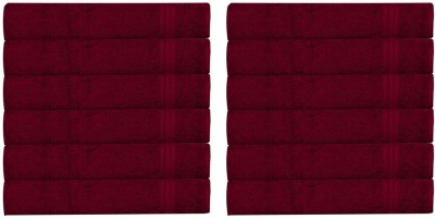 RR Textile House Maroon Set of 12 Napkins