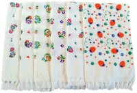 Pristine Hand Towels Multicolor Set of 6 Napkins
