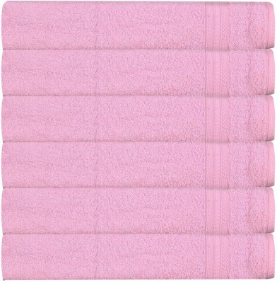 RR Textile House Pink Set of 6 Napkins