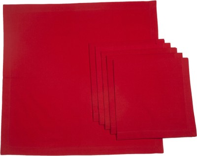 Ocean Collection Red Set of 6 Napkins