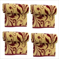 Bombay Dyeing Brown Set of 4 Napkins