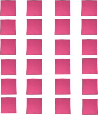 Kanchul Hot Pink Set of 24 Napkins