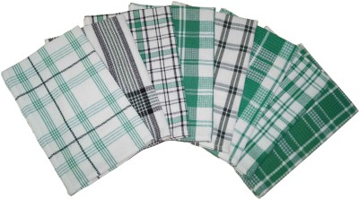 Lushomes Green Set of 8 Napkins