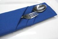 Raghuraj Lifestyle Blue Set of 6 Napkins