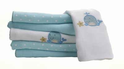 Lollipop Lane Blue Set of 6 Napkins