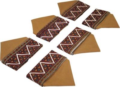 Sriam Brown Set of 6 Napkins