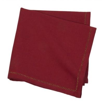 Po Box Red Set of 1 Napkins