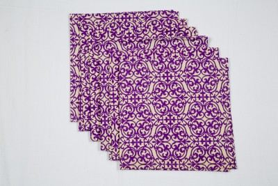 Ocean Collection Purple Set of 6 Napkins