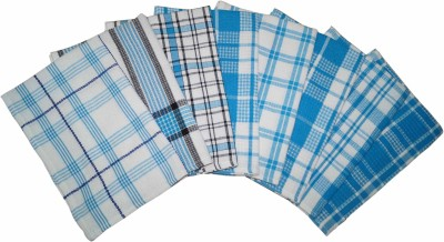 Lushomes Blue Set of 8 Napkins
