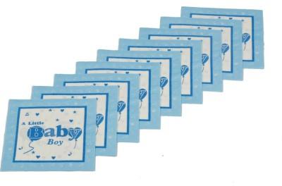 Funcart Blue Set of 9 Napkins