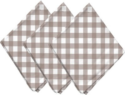 Airwill Peach Set of 3 Napkins