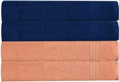 RR Textile House Dark Blue, Beige Set of 4 Napkins