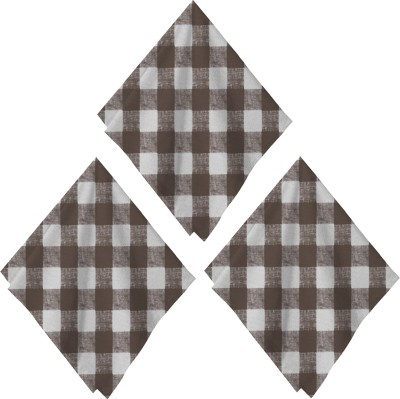 Airwill Brown Set of 3 Napkins
