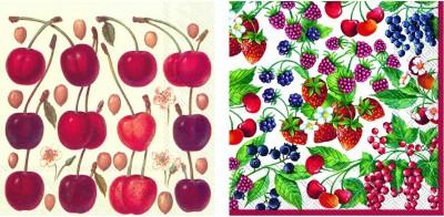 IHR Multicolor Set of 40 Napkins