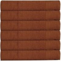 RR Textile House Brown Set of 6 Napkins