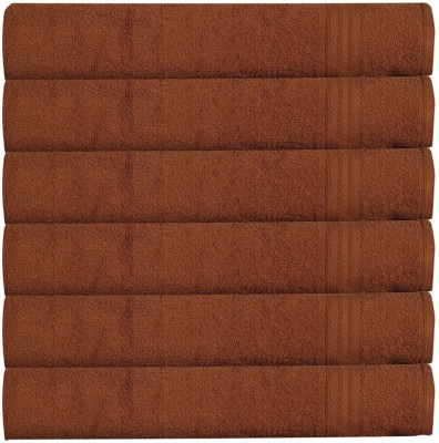 RR Textile House Brown Set of 6 Napkins