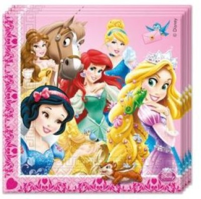 Disney Multicolor Set of 20 Napkins