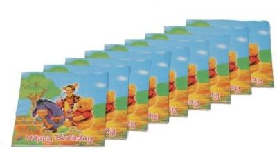 Funcart Multicolor Set of 9 Napkins
