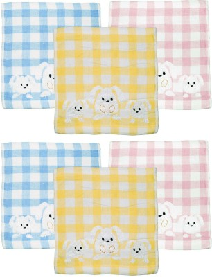 tinny tots Multicolor Set of 6 Napkins