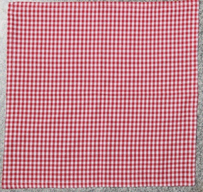 Five Seasons House Red, White Set of 1 Napkins