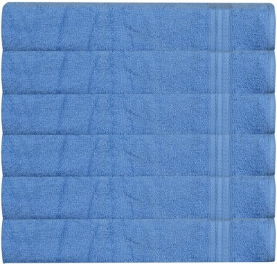 RR Textile House Light Blue Set of 6 Napkins