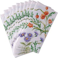 IHR Multicolor Set of 10 Napkins
