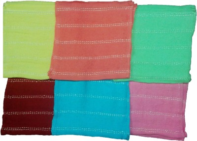 Mikado Multicolor Set of 12 Napkins