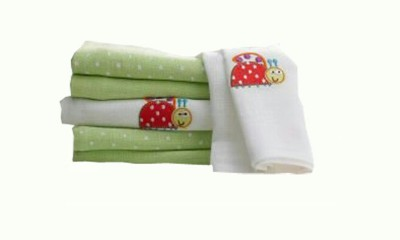 Lollipop Lane Green Set of 6 Napkins