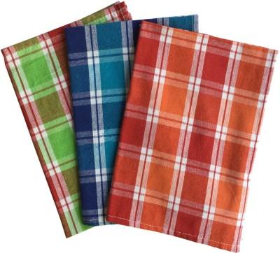Lushomes Multicolour Set of 3 Napkins