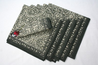 Raghuraj Lifestyle Grey Set of 6 Napkins