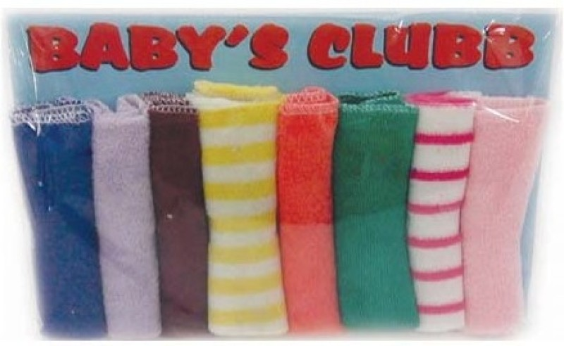 Baby's Clubb Multicolor Set of 8 Napkins