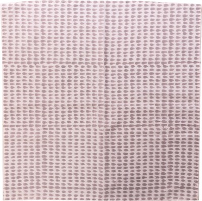 Raaga Textile White, Grey Set of 4 Napkins