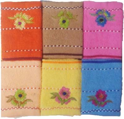 Mikado Multicolor Set of 12 Napkins