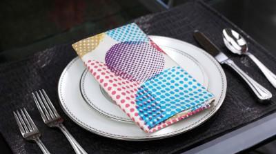 Lushomes Multicolor Set of 6 Napkins